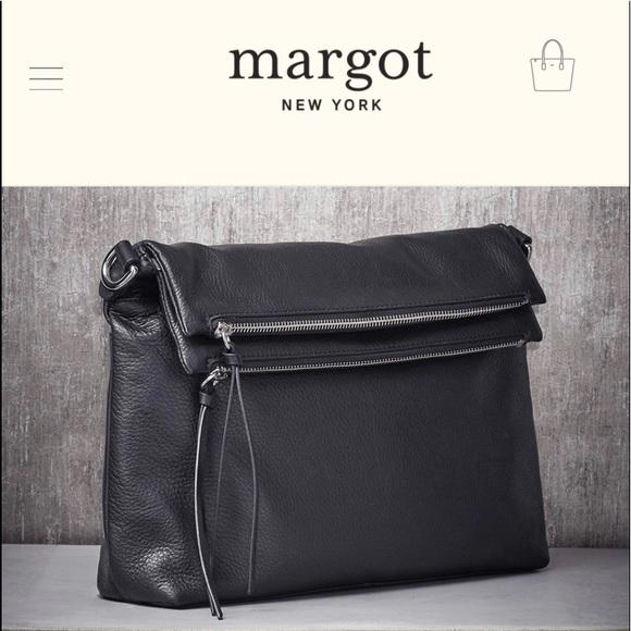 margot Handbags - Mickey Double Zip Versatile Hobo in Black Purse
